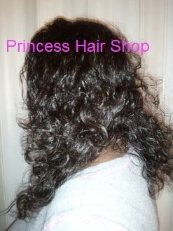 "Body Wave Hair 16"" Lace Front Wig"
