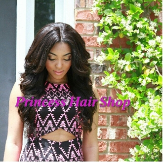 Eurasian Natural Straight/Wavy Closure 16-18""