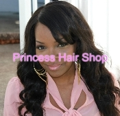 Brazilian Curly/Wavy Closure 16-18""