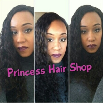 "Brazilian Curly Hair 20"" Lace Front Wig"