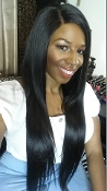 "Malaysian Straight Closure 14""-16"""