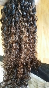 Burmese Curly Lace Closure 16-18""