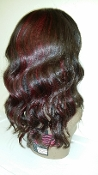 Russian Straight Custom Wig Unit w/Red Luxe