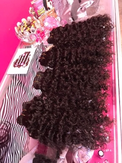 "Brazilian Curly Hair 16"" 2 Bundle Deal"