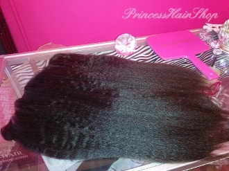 Lace Frontal Mongolian Extra Kinky Straight 16""