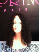 "Brazilian Deep Curly 20"" Lace Front Wig"