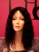 "Brazilian Curly Hair 16"" Lace Front Wig"