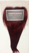 "Russian Red Luxe Straight Closure 14""-16"" -NO ROOTS"