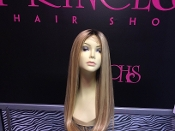 "Armenian Blonde Natural Wave 22"" Custom Wig Unit"