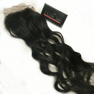 Russian Wavy Silk Based Closure 16-18""