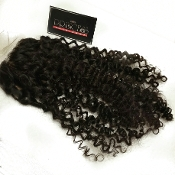 Brazilian Deep Curly Silk Based Closure 16-18""