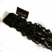 Brazilian Curly/Wavy Silk Based Closure 16-18""