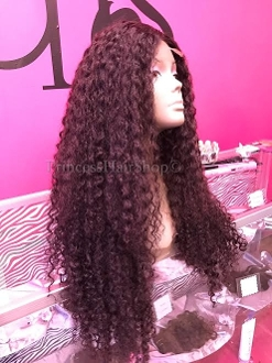 Burmese Curly Custom Wig Unit 28""