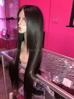 Malaysian Straight Custom Wig Unit 26""