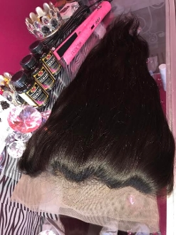 360 Full Lace Frontal Straight 16-18""